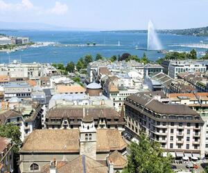Stadtansicht Genf