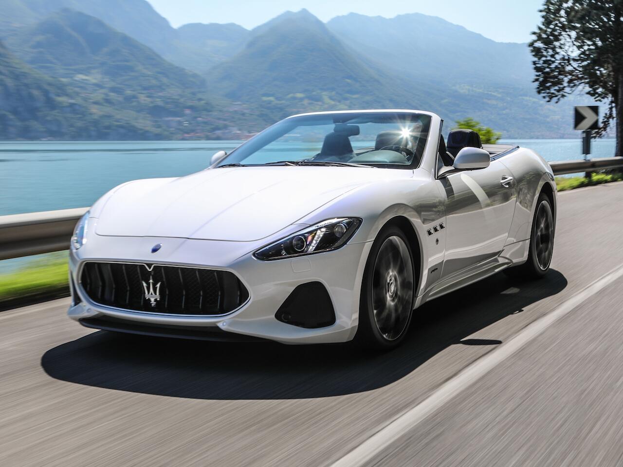 Bild zu Maserati GranCabrio Sport
