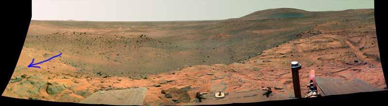 Bild zu Panoramafoto Mars