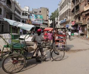Straße in Amritsar