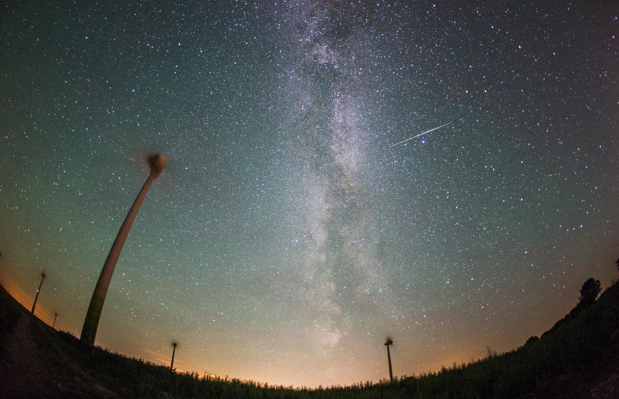 Bild zu Sternschnuppen über Norddeutschland