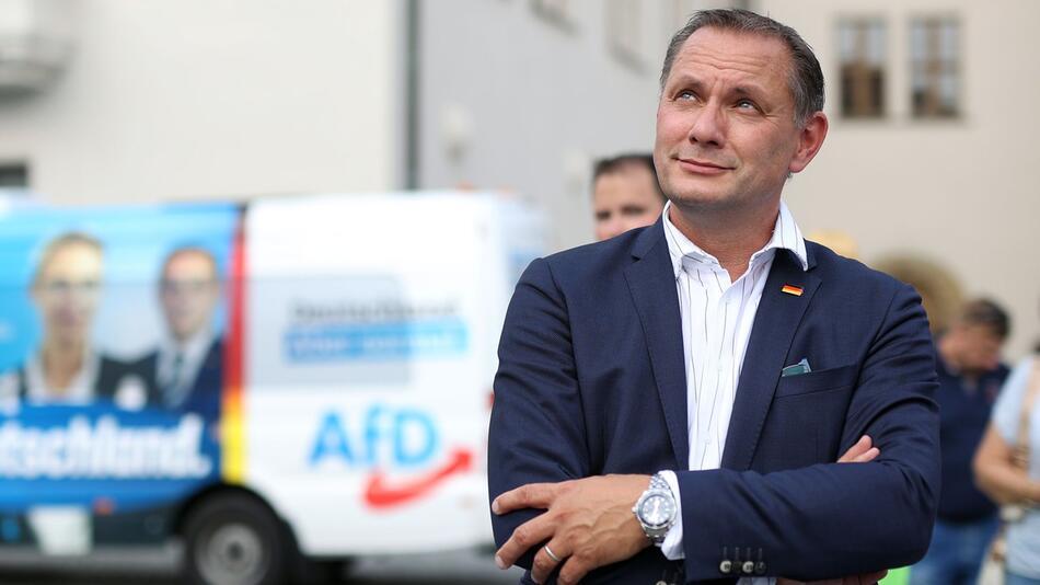 Wahlkampftour der AfD in Stendal