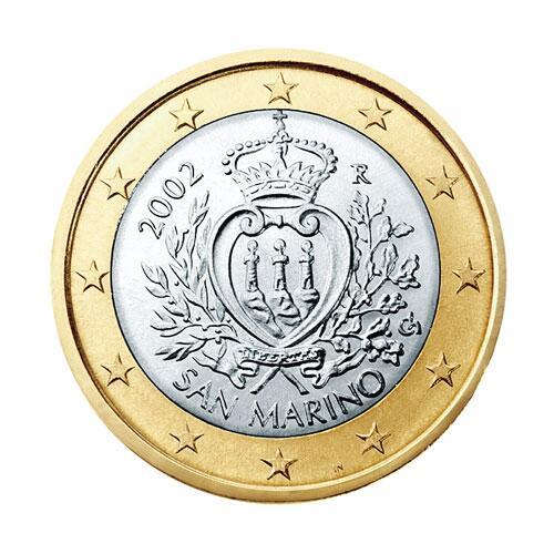 Bild zu Euromünze San Marino