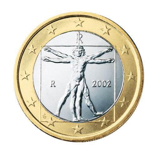 Bild zu 1-Euro-Münze aus Italien