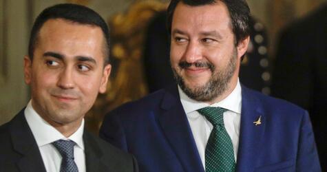 Regierungsvereidigung in Italien