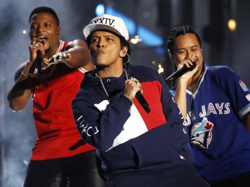 Bild zu MTV Europe Music Awards - Bruno Mars
