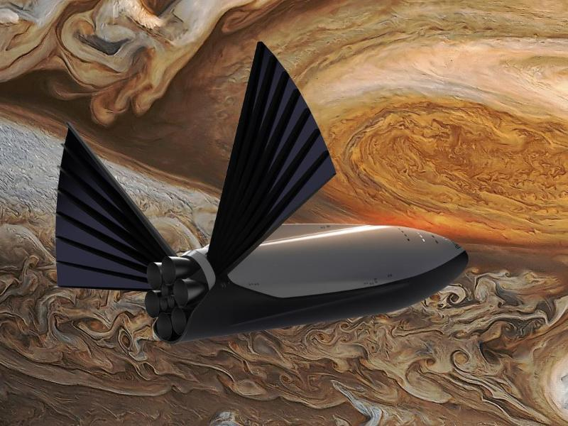 Bild zu SpaceX plant Marsmission