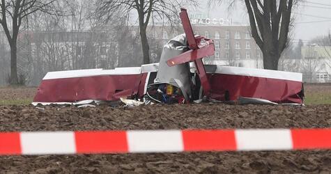 Ultraleichtflugzeug abgestürzt