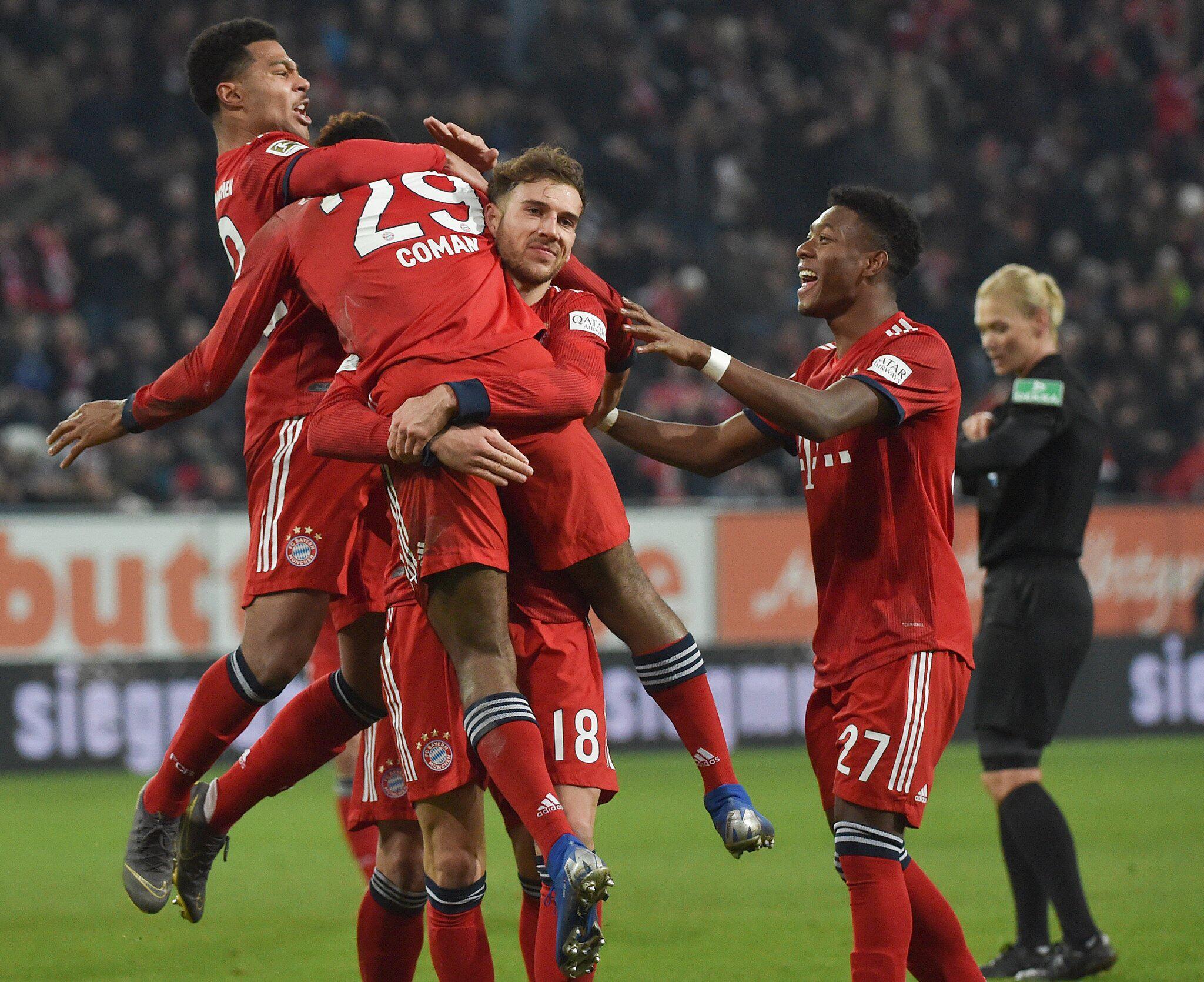 Bild zu FC Augsburg - Bayern München