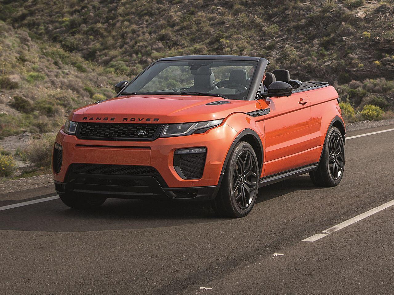 Bild zu Range Rover Evoque Cabriolet