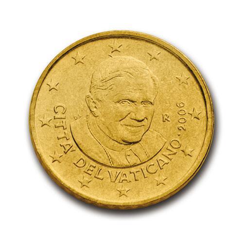 Bild zu 50-Cent-Münze aus dem Vatikan