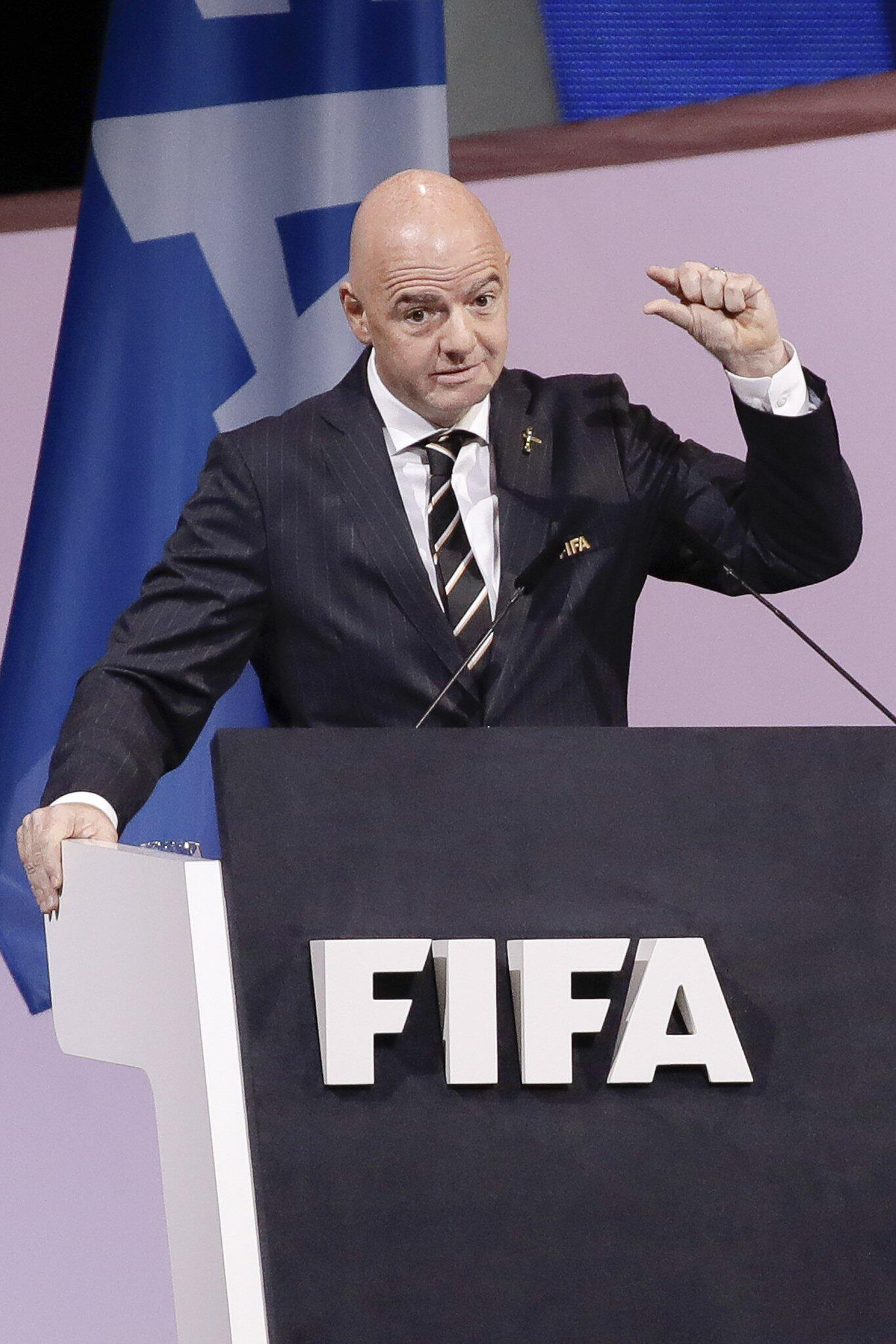 Bild zu FIFA, Kongress, Wahl, Präsident, Gianni Infantino