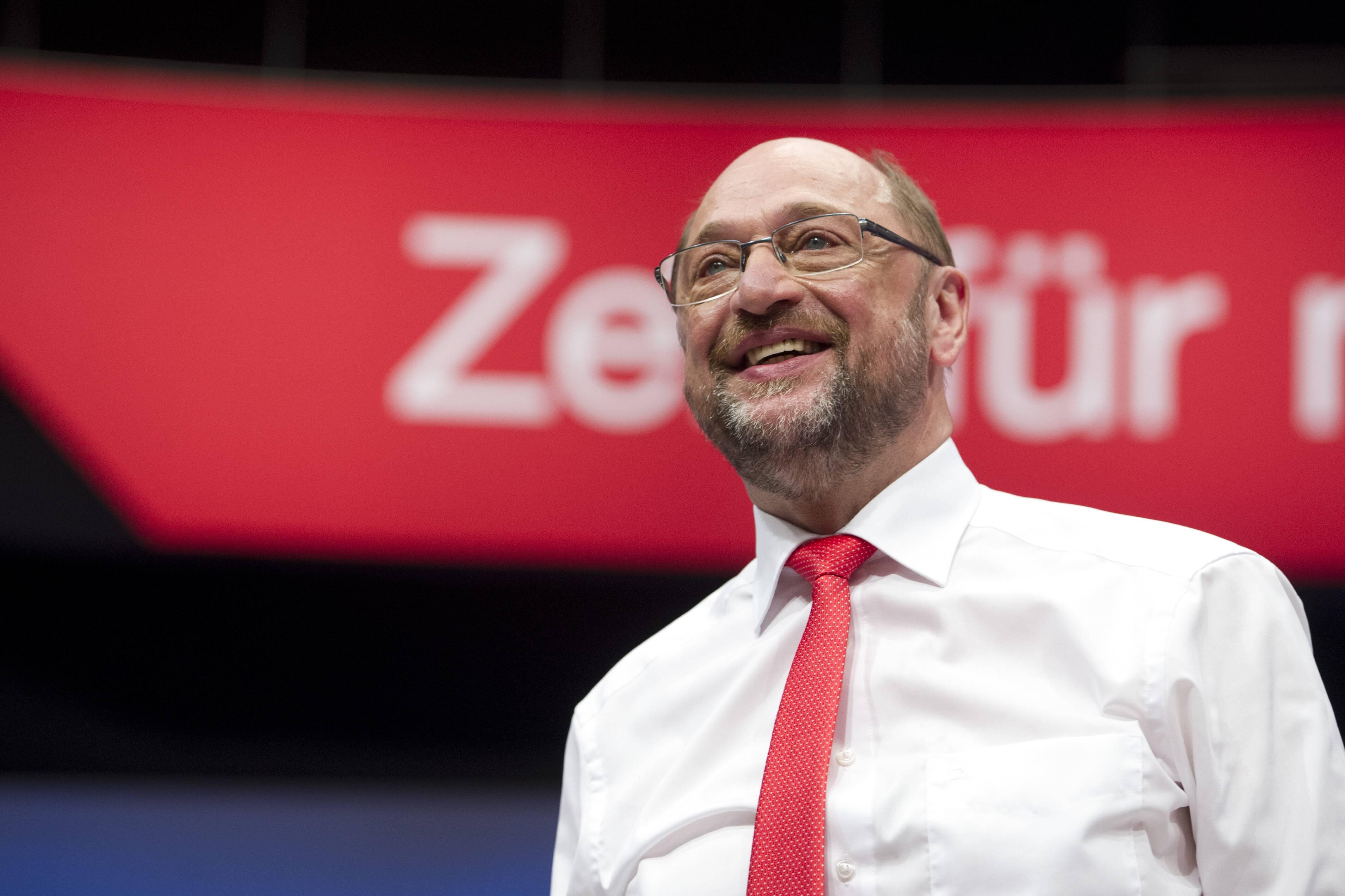 Bild zu Martin Schulz, Bundestagswahl 2017, Bundeskanzler, Wahl, Angela Merkel, SPD