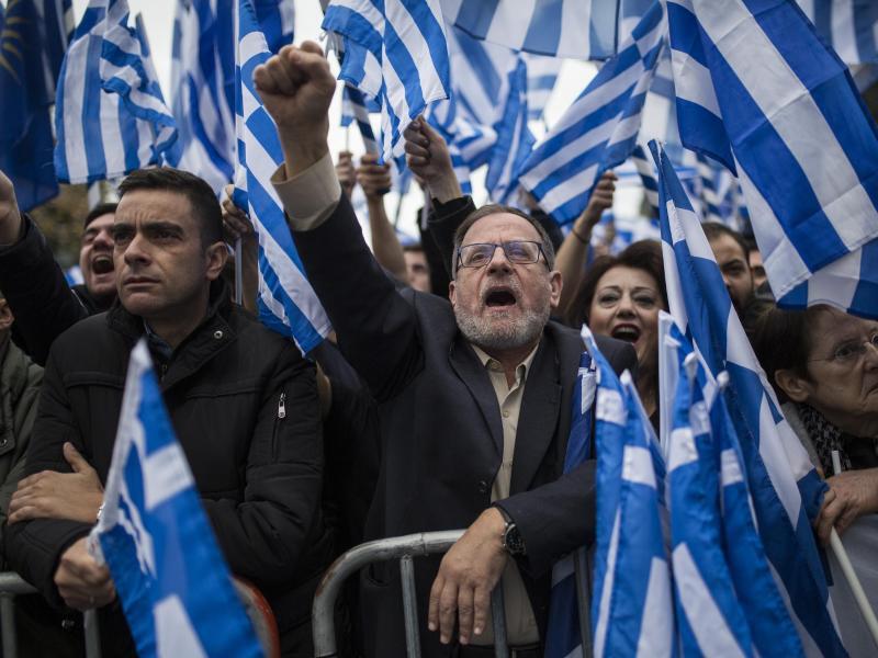 Bild zu Großdemo in Athen