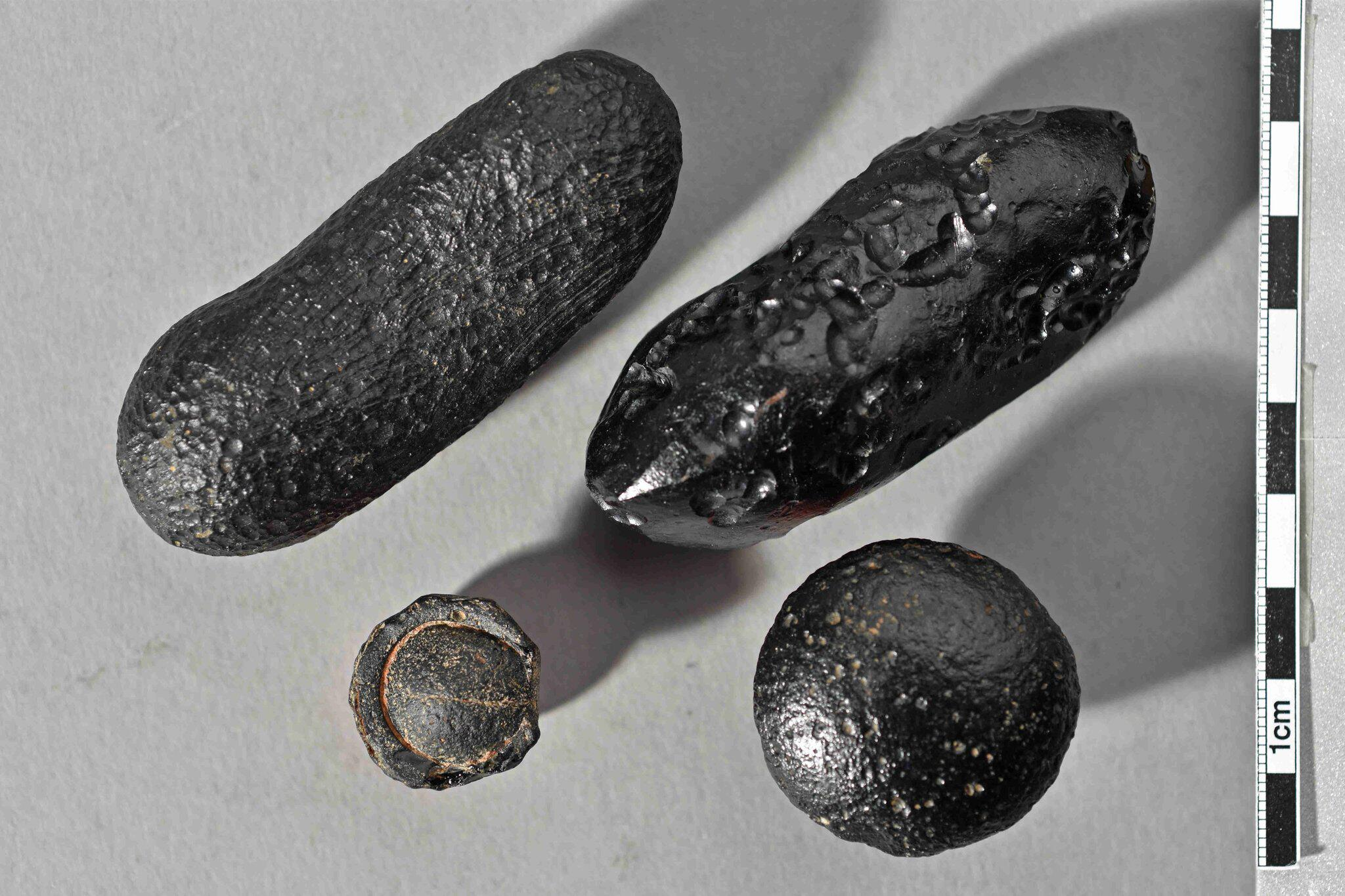 Bild zu Meteorit schleuderte Glas über Globus