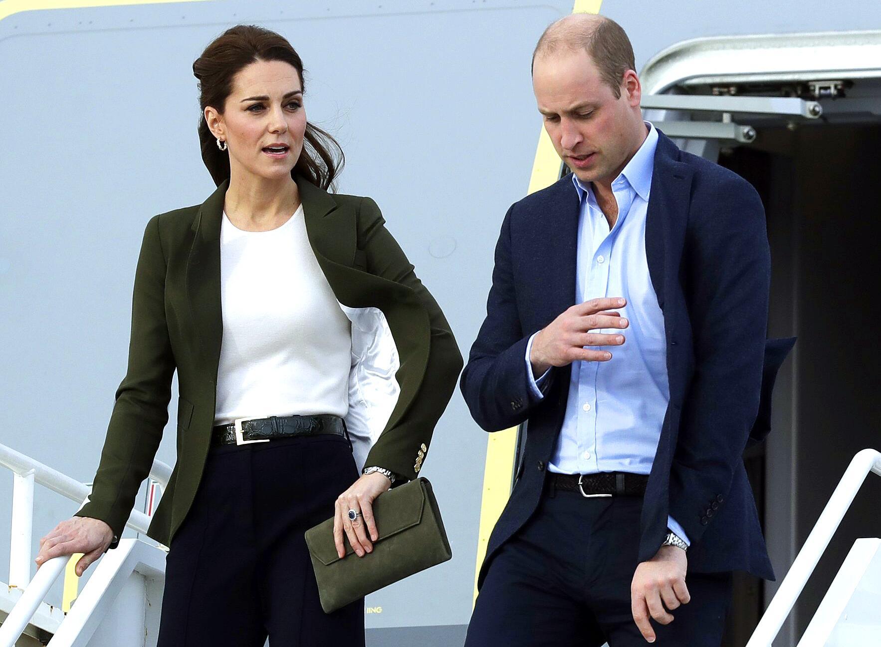 Bild zu Prinz William und Herzogin Kate