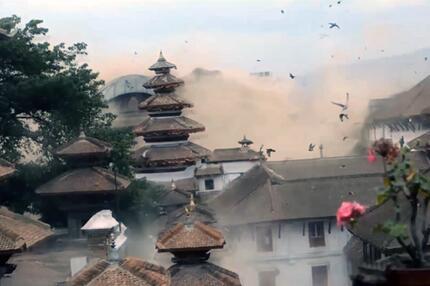 Rendered Vegas Kathmandu Erdbeben