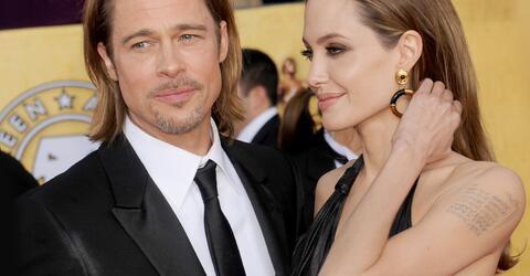 Brad Pitt, Angelina Jolie, Scheidung, Tattoo, Brangelina