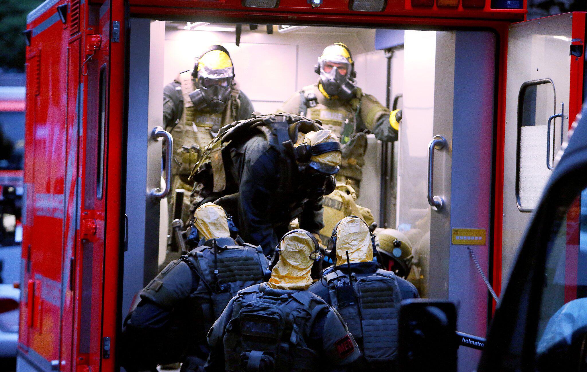 Bild zu Verdächtige Substanzen in Kölner Hochhau