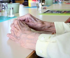 Pflegeheim - Bewohnerin
