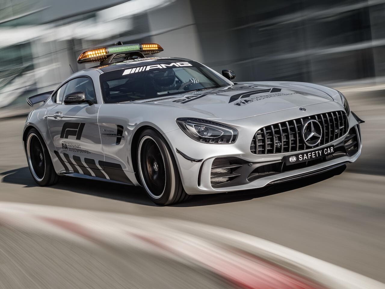Bild zu Mercedes-AMG GT R Safety Car