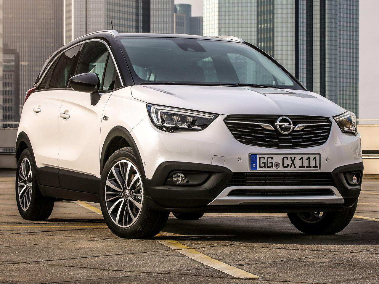 Bild zu Platz 14: Opel Crossland X