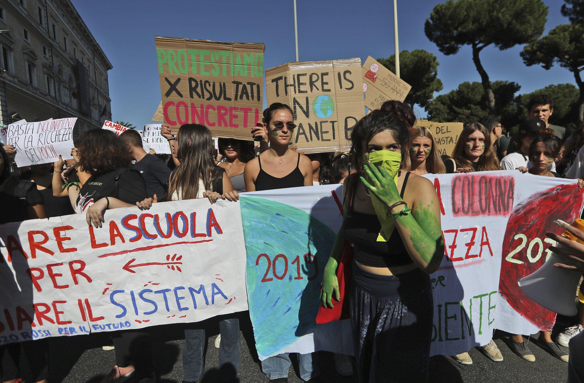 Bild zu Klimastreik - Rom