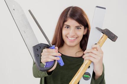 Werkzeug speziell für Frauen
