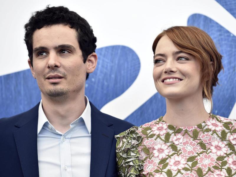 Bild zu Filmfest Venedig - Emma Stone & Damien Chazelle