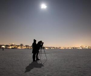 Fotosession bei Vollmond
