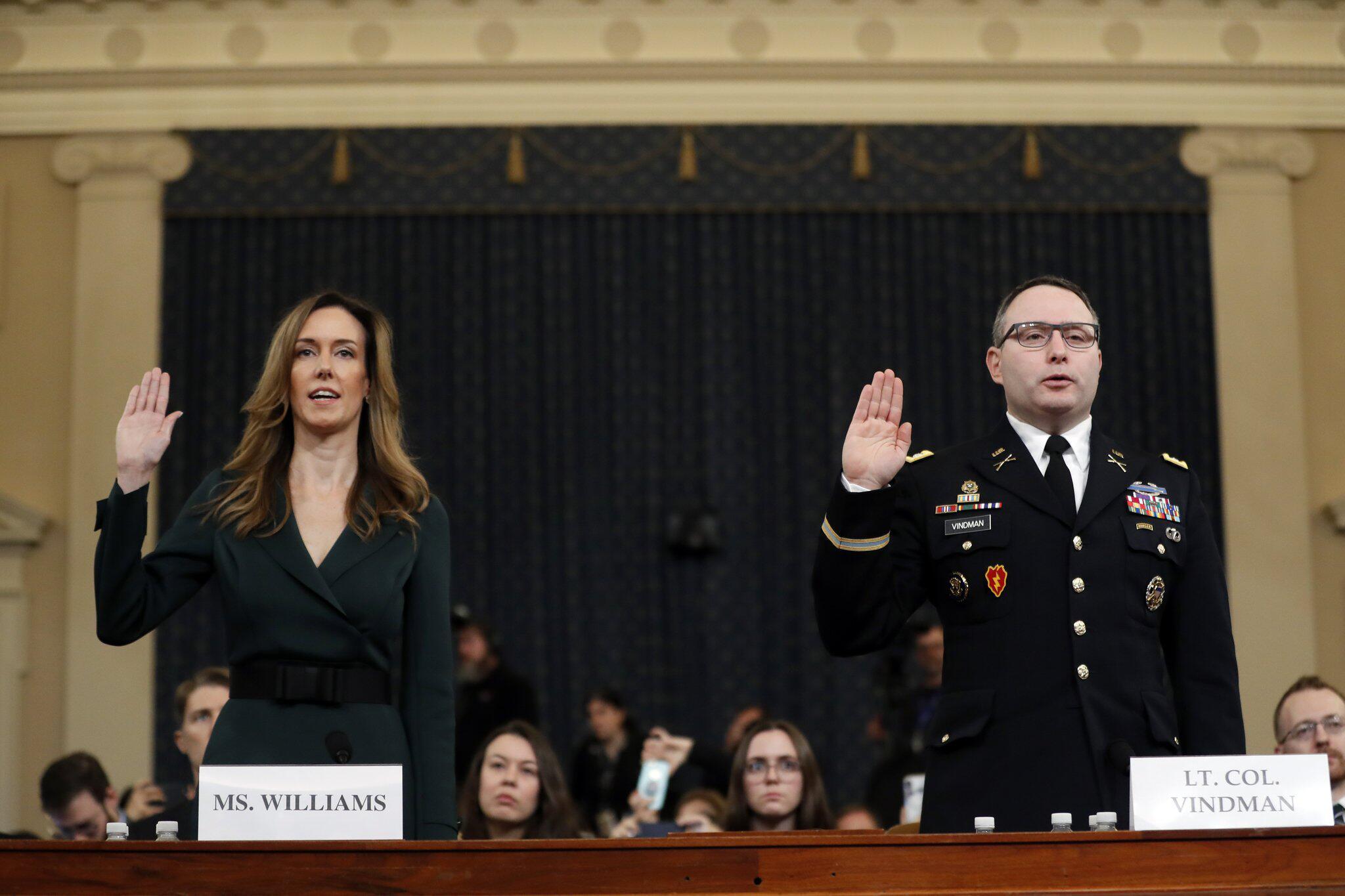 Bild zu Anhörungen in Impeachment-Ermittlungen