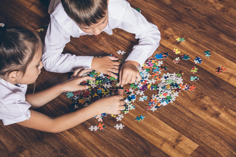 Bild zu puzzle, 3D, internationaler Puzzletag, spaßig, schräg, anspruchsvoll, puzzlen, spiele, familie