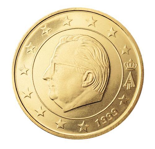 Bild zu 50-Cent-Münze aus Belgien