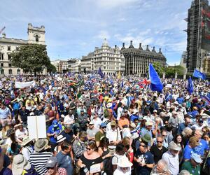 Protest gegen den Brexit in London
