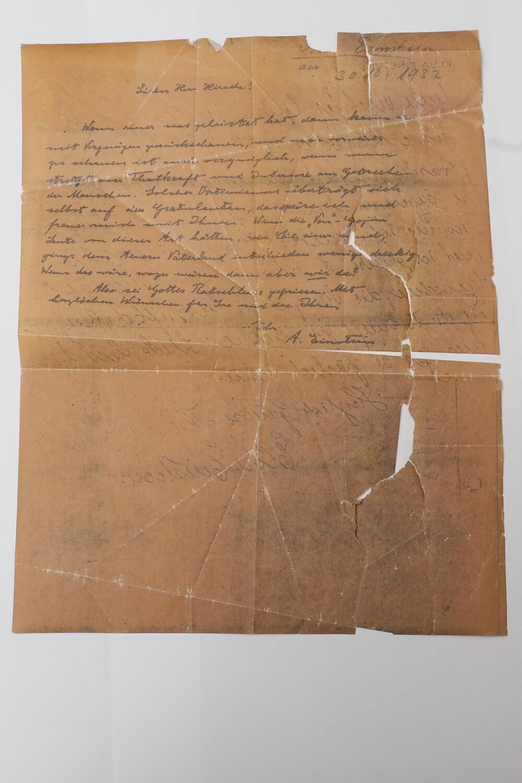 Jüdische Gemeinde in München findet Einstein-Brief