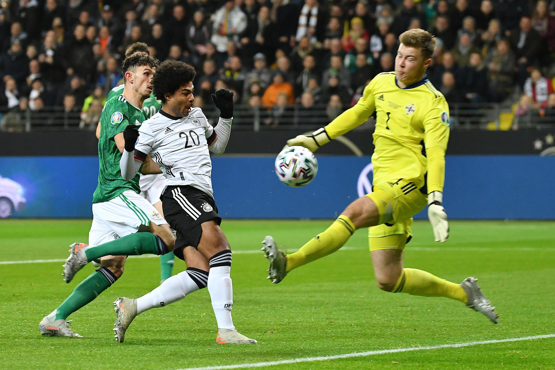 Bild zu Serge Gnabry, Nationalmannschaft, Deutschland, Nordirland, EM 2020, EM-Qualifikation, Frankfurt/Main