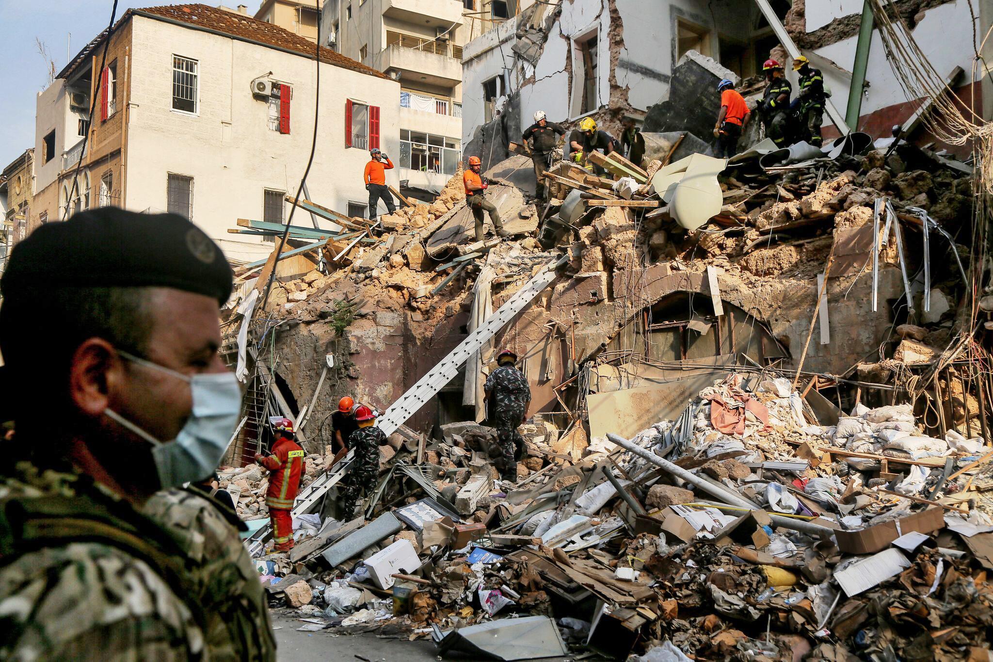 Bild zu Nach der schweren Explosion in Beirut