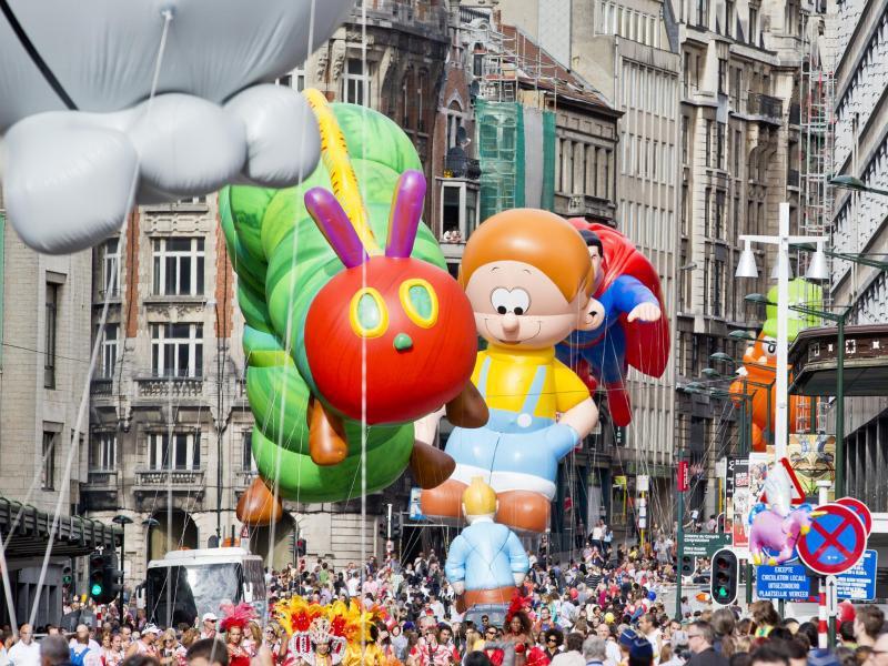 Bild zu Comic-Festival in Brüssel